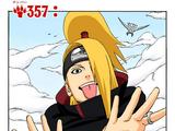 Capítulo 357: Deidara vs. Sasuke!!