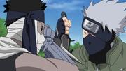 Deuxième Confrontation de Zabuza et Kakashi