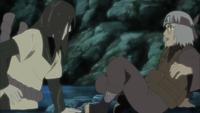 El encuentro de Kabuto y Orochimaru