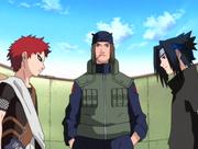 Gaara contre Sasuke