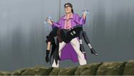 Kokuyō controlando a Shizuka