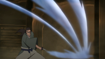 The technique in the anime.
