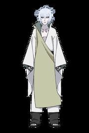 Toneri Otsutsuki-Aparência