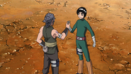 Shira e Rock Lee