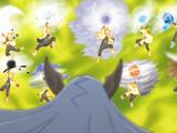 Arte Sabio: Super Rasen Shuriken de Bestia con Cola