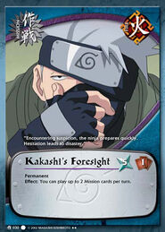 Kakashi's Foreshight
