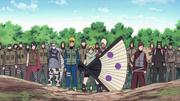 Los Shinobis Aliados Aparecen Juntos