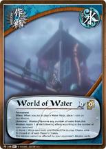 Mundo de Agua PNG