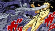Obito ataca Naruto e Sasuke