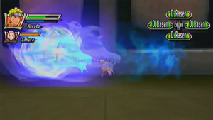 Elemento Viento Rasengan de Espada Dragon
