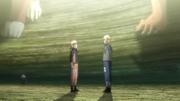 Minato souhaite un joyeux anniversaire à Naruto