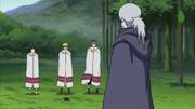 Naruto, Yamato e Hinata encontram-se com Kabuto