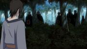 Pain prestes a enfrentar Utakata