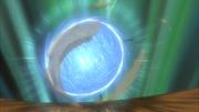 Rasengan utilizado como pelota de fútbol
