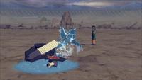 Técnica do Projétil do Tubarão de Água (Kisame - Game)