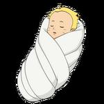 Boruto - Bebê (Render)