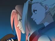Ino usa Shintenshin em Sakura