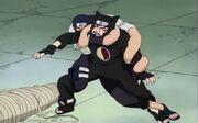 "Kankurō ""vencido"" por Misumi"