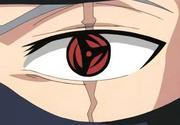 Mangekyō Sharingan de Kakashi no anime