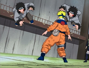 Naruto contre Kiba