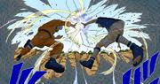 Naruto y Sasuke chocan por primera vez