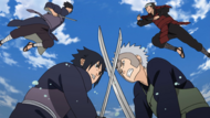 Senju and Uchiha fights