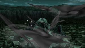 Clon de Sombra de Fūma Shuriken Anime