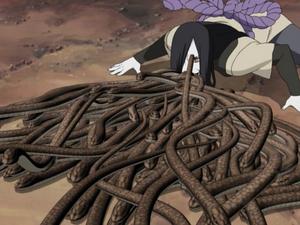 Formación de las Diez Mil Serpientes Anime