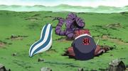 Gamabunta y Katsuyu preparados para enfrentar a Manda