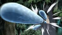 Liberação de Água - Saudação d'Água (Suigetsu - Anime)