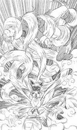 Naruto original 9 tailed form