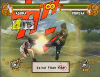Spiral Flash Kick