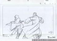 Arte Pierrot - Raikage VS Falso Naruto
