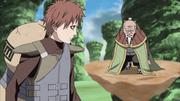 Onoki explica para Gaara como funciona o Joki Boi