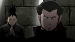 Shikamaru intrappola Gengo