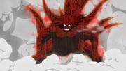 Transformacja jinchuriki Kinkaku