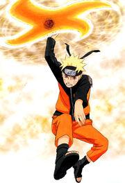Naruto Artbook2 Rasenshuriken