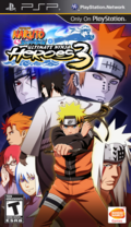 Naruto Shippūden Ultimate Ninja Heroes 3 Norteamérica