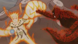 Naruto vs Rōshi