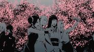Sakura, Ino, Tenten e Hinata