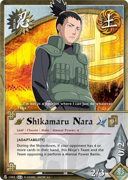 Shikamaru Nara SL
