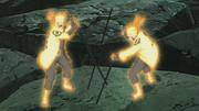 Arte Sabio Rasengan de Elemento Imán Anime 4