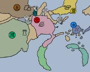 Geografía de Naruto
