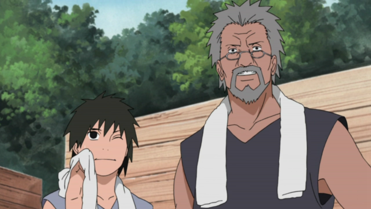 Image - Inari and Tazuna in Part II.PNG   Narutopedia   FANDOM powered by Wikia