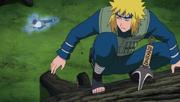 Jutsu del Dios Trueno Volador Anime 3