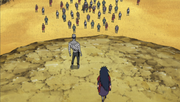 Mū regresa al campo de batalla junto a Madara Uchiha