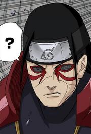 Marcas del Modo Sabio de Hashirama en el manga