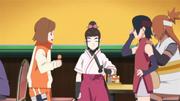 Namida tenta apaziguar a situação