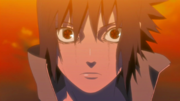 Sasuke despierta su Mangekyo Sharingan