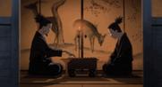Shikaku és Shikamaru shogi